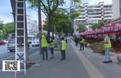 市城管委开展线缆清除整治行动