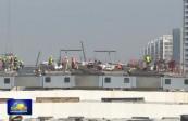 兰州新区建设者:用劳动为共和国庆生