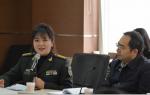 中国军事网总编辑张莉与兰州广播电视台同行进行交流座谈