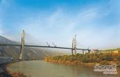兰州西固黄河大桥正在加紧建设