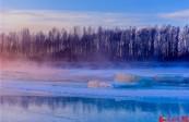 全国多地开启冰雪模式 白雪皑皑美不胜收