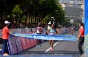 """2018""""兰马""""赛:全程女子组冠亚军在毫秒中对决"""
