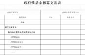 2019年部門預算公開表(臺匯總公示)