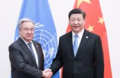 习主席同联合国秘书长通电话 传递三个重要信息