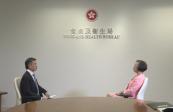 香港食物及卫生局局长陈肇始 国家始终是香港不断前行的强大后盾