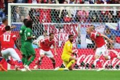 俄罗斯世界杯大幕开启 揭幕战东道主5比0完胜沙特