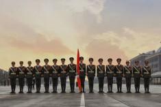 又一個全國一等獎!屬于蘭大國旗護衛隊