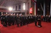 兰州市新当选国家机关工作人员集体向宪法宣誓