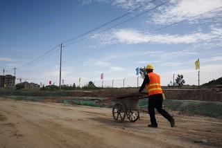 重大项目报道——第三组走进榆中县重大项目建设现场图片集