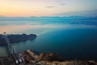 黄河之水绿如蓝